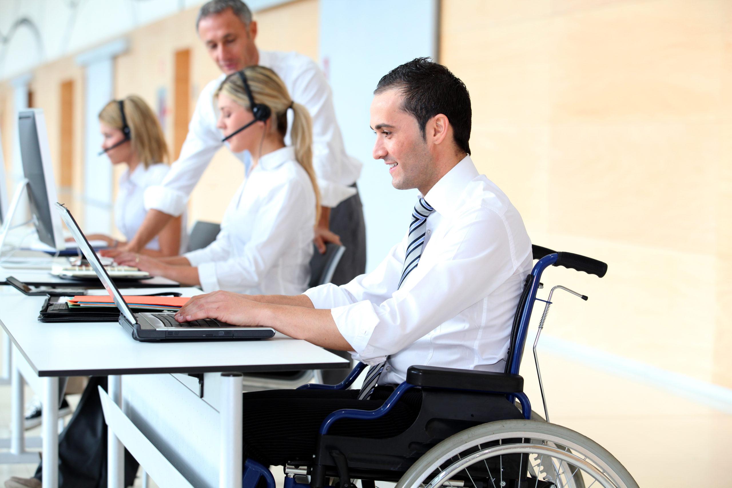 Serveis d'integració laboral per a persones amb discapacitat