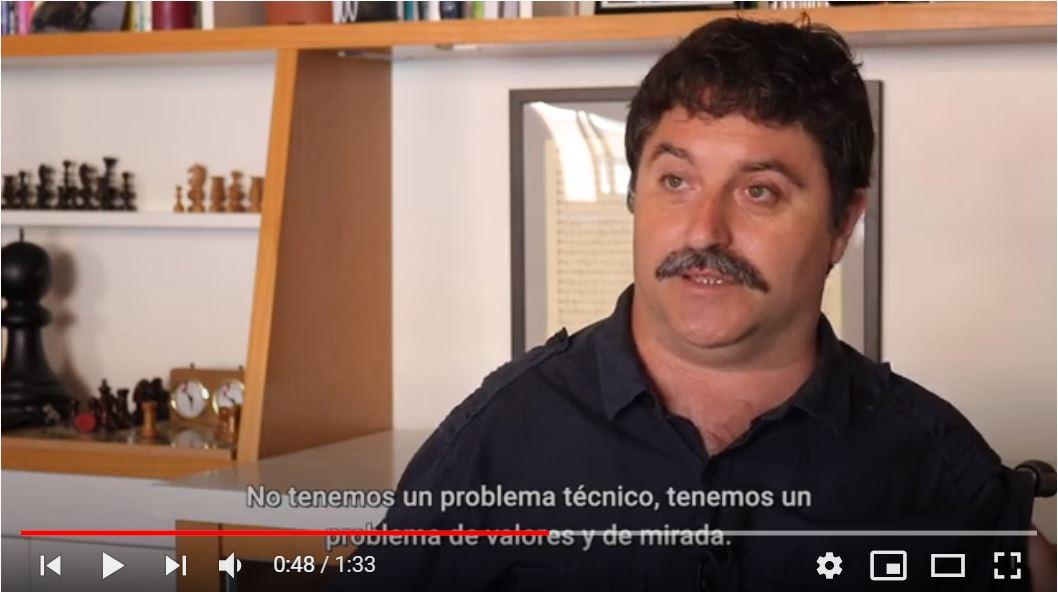 Antonio Centeno, activista y miembro fundador de FVID